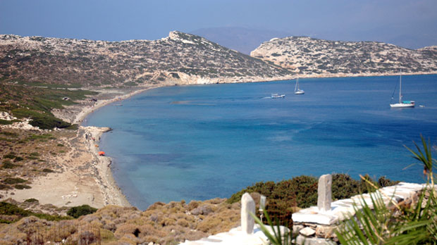 Beaches on the Island of Nikouria