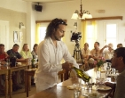 wine-demonstration-at-aegialis-hotel-spa