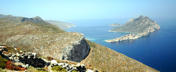 View on Nikouria and Agios Pavlos