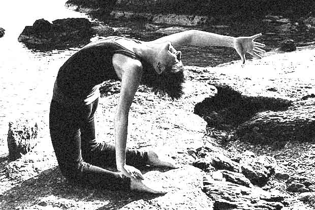 Yoga on the Rocks, Amorgos